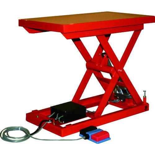 【直送品】TRUSCO テーブルリフト100kg(電動Bねじ式200V)520×850mm HDL-H1058R-22