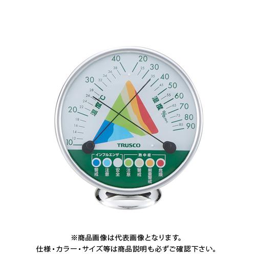 期間限定送料無料 ファッション通販 TRUSCO アナログ熱中症インフルエンザ警告計 AWM-130