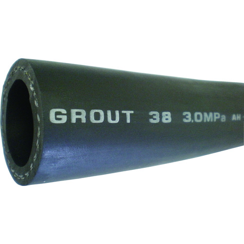 【直送品】横浜ゴム グラウトホース 32mm-100M GROUT32-100