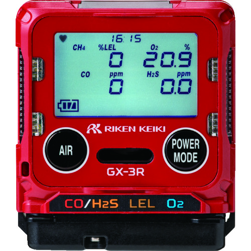 【直送品】理研 ポータブルガスモニター GX-3R タイプI GX-3R-I-CH4