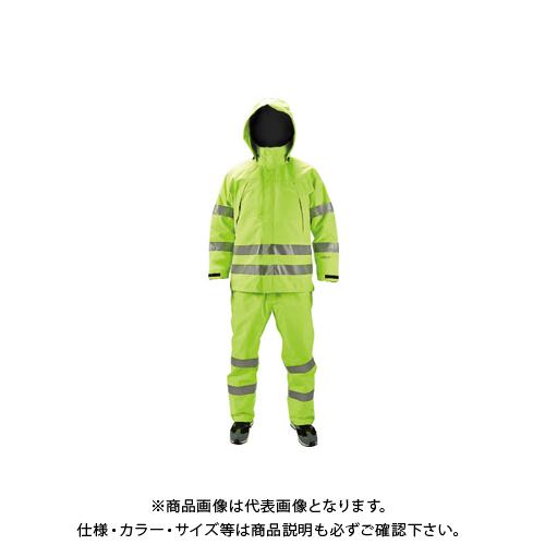 【COOL NAVI 2020】TRUSCO ゴアテックス高視認制電レインパンツ イエロー M GXHP-M-Y