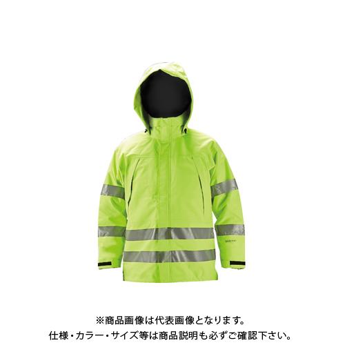 【COOL NAVI 2020】TRUSCO ゴアテックス高視認制電レインウェア イエロー 3L GXHW-3L-Y