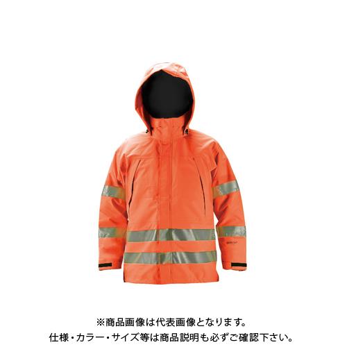 【COOL NAVI 2020】TRUSCO ゴアテックス高視認制電レインウェア オレンジ 3L GXHW-3L-OR