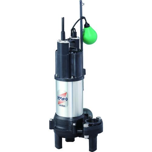 店内全品対象 直送品 川本 排水用樹脂製水中ポンプ WUO4-505-0.4TL Seasonal Wrap入荷 汚物用