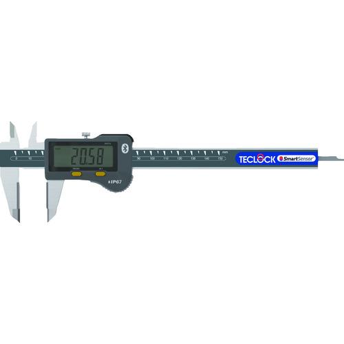 【直送品】テクロック SmartMeasure(デジタルノギスセット) BlueTooth内蔵 SSC-650SK