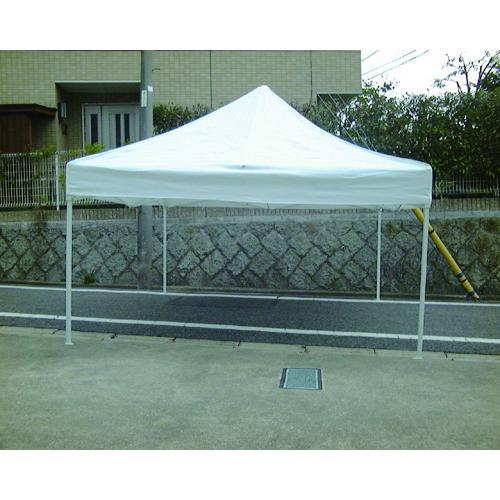 【直送品】旭 かんたん組立テント 3.0mX3.0m 白 NKT-3030