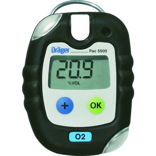 【直送品】Drager 単成分ガス検知警報器 パック5500 酸素 64×84×20mm 8322012
