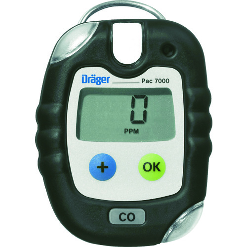 【直送品】Drager 単成分ガス検知警報器 パック7000 二酸化イオウ 8326387