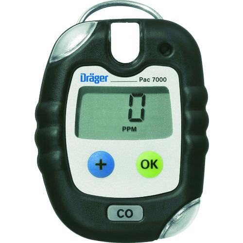 【直送品】Drager 単成分ガス検知警報器 パック7000 硫化水素64×84×20mm 8318674