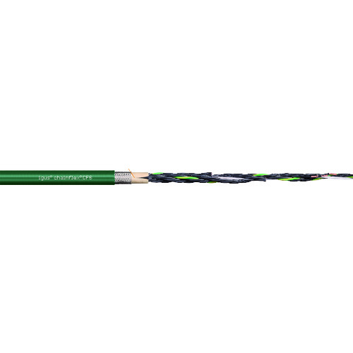 【直送品】igus チェーンフレックス可動専用ケーブル 100m CF6.05.07-100