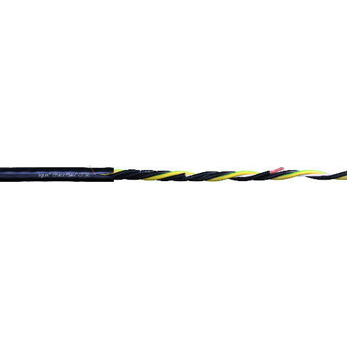 【直送品】igus チェーンフレックス可動専用ケーブル 100m CF30.250.04-100