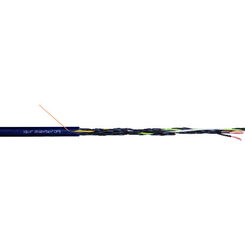 【直送品】igus チェーンフレックス可動専用ケーブル 100m CF9.10.04-100