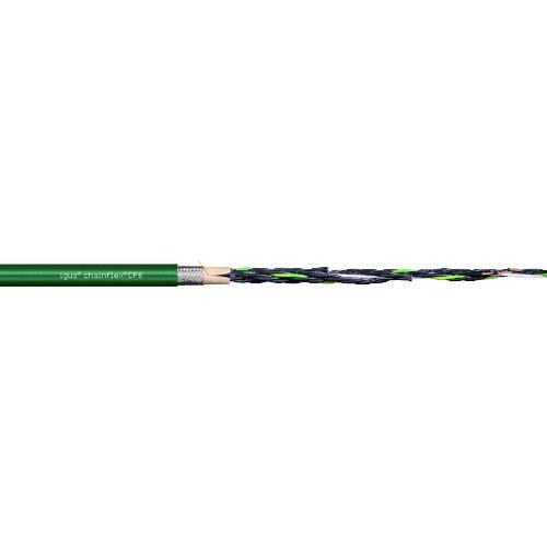 【直送品】igus チェーンフレックス可動専用ケーブル 100m CF6.25.04-100