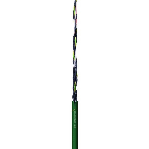 【直送品】igus チェーンフレックス可動専用ケーブル 100m CF5.25.05-100