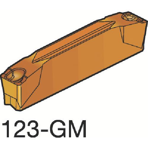 大人女性の  10個 2135 コロカット2 N123E2-0200-0002-GM:2135:KanamonoYaSan KYS サンドビック 突切り・溝入れチップ-DIY・工具