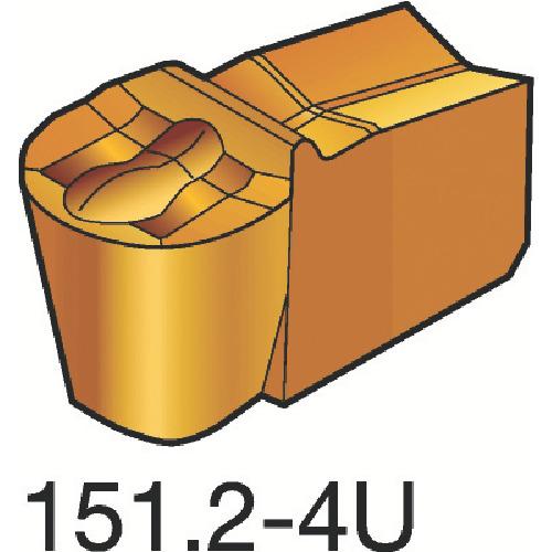 サンドビック T-Max Q-カット 突切り・溝入れチップ H13A 10個 N151.2-200-20-4U:H13A