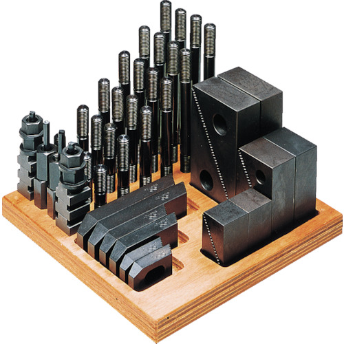 スーパーツール ステップクランプキット(M14、T溝巾16) 1614-CK