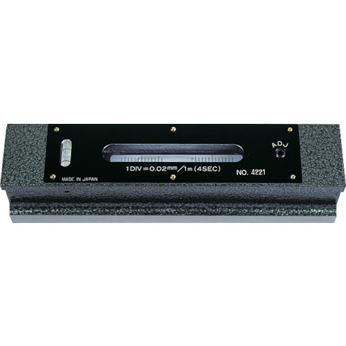 TRUSCO 平形精密水準器 B級 寸法150 感度0.05 TFL-B1505