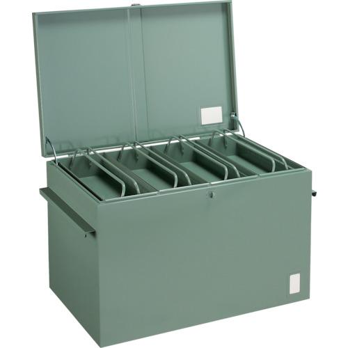 【直送品】TRUSCO 大型車載用工具箱 中皿付 900X600X600 F-960