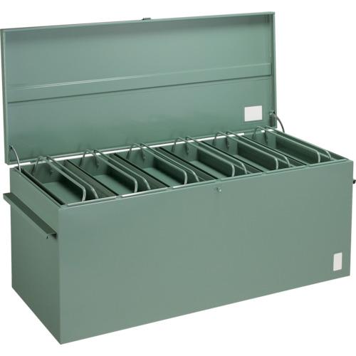 【直送品】TRUSCO 大型車載用工具箱 中皿付 1400X600X600 F-1460