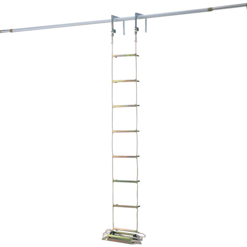 【直送品】ピカ 避難用ロープはしご EK型6m EK-6