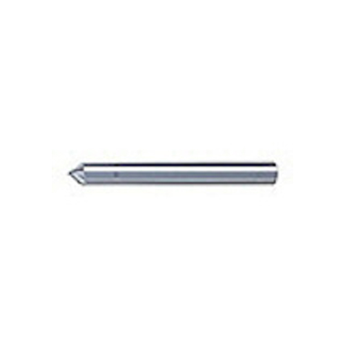 ユニオンツール 超硬エンドミル テーパ φ1×刃長2.5X片角45° SV2060