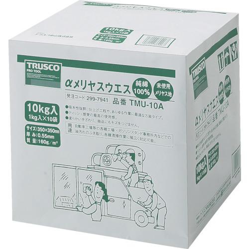 TRUSCO αメリヤスウエス 汎用タイプ (10kg入) TMU-10A