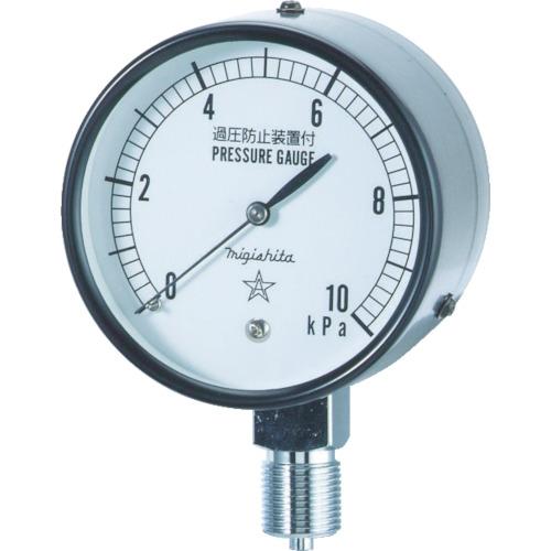 右下 微圧計 AT3/8×75×5KPA CA311-211-5KP