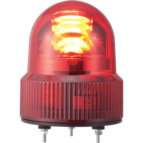 パトライト SKHE型 LED回転灯 Φ118 オールプラスチックタイプ SKHE-24-R