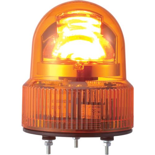 パトライト SKHE型 LED回転灯 Φ118 オールプラスチックタイプ SKHE-100-Y
