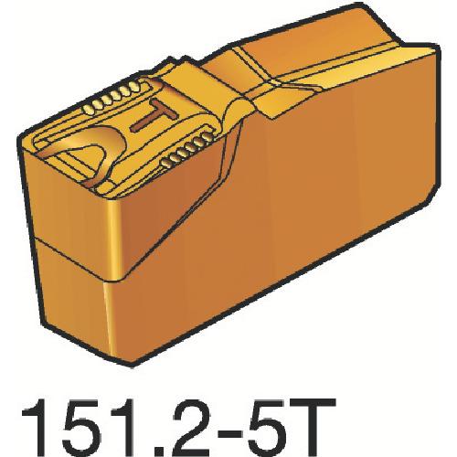 サンドビック T-Max Q-カット 突切り・溝入れチップ 4225 10個 N151.2-5004-50-5T:4225