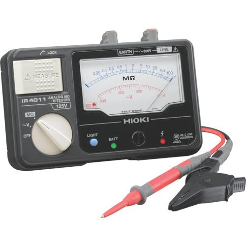HIOKI メグオームハイテスタ 交流電圧(V)600 IR4011-10