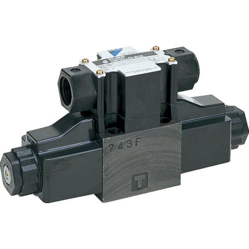 ダイキン 電磁パイロット操作弁電圧AC200V 呼び径1/4 最大流量100 KSO-G02-2BB-30-N