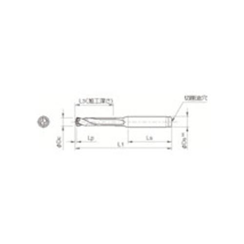 【1/10限定!Wエントリーでポイント14倍!】京セラ ドリル用ホルダ SS14-DRC125M-3