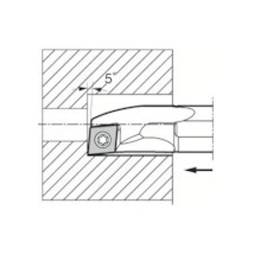 京セラ 内径加工用ホルダ S10L-SCLCL06-12A