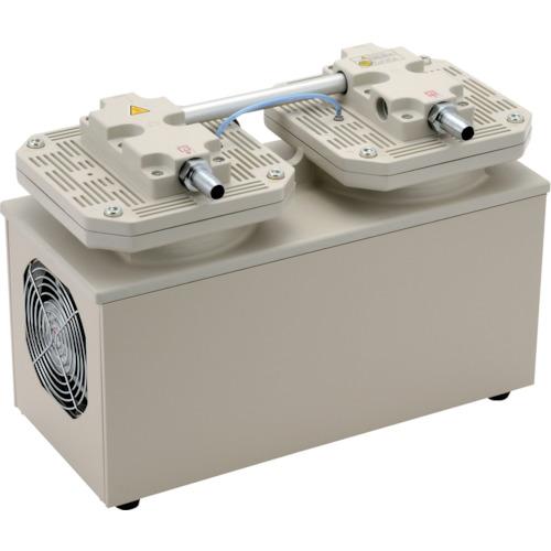 【個別送料1000円】【直送品】ULVAC 単相100V ダイアフラム型ドライ真空ポンプ 全幅193.5mm DA-121D