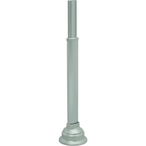 アロン 安寿アプローチ用手すり 支柱スロープ対応式R 536000