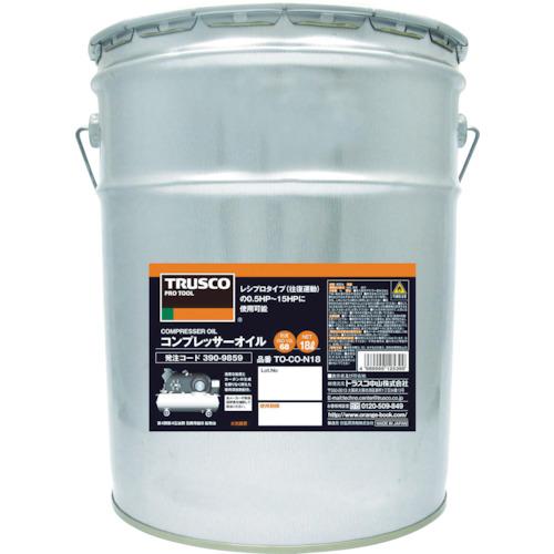 TRUSCO コンプレッサーオイル18L TO-CO-N18