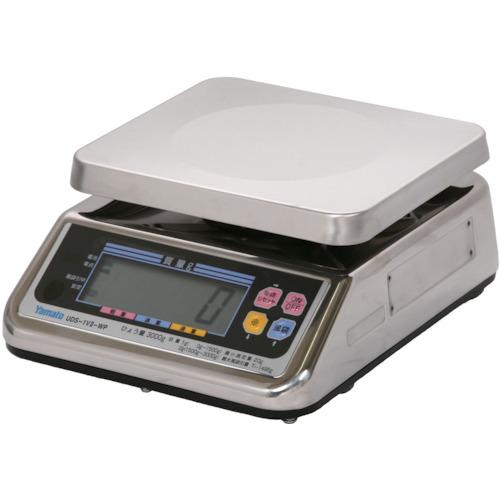 【直送品】ヤマト 完全防水形デジタル上皿自動はかり UDS-1V2-WP-3 3kg UDS-1V2-WP-3