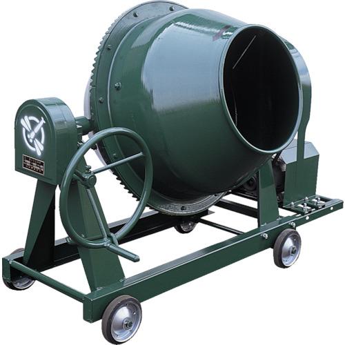 【直送品】トンボ グリーンミキサ2.5切丸ハンドル車輪モーター付 NGM-2.5BCM4