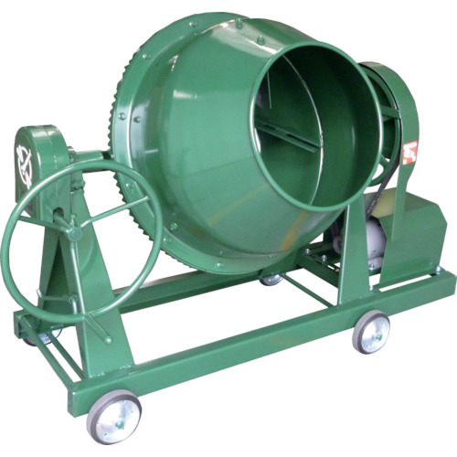 【直送品】トンボ グリーンミキサ3切丸ハンドル車輪モーター付 NGM-3M7