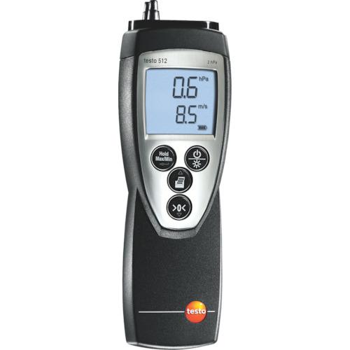 【運賃見積り】【直送品】テストー 差圧計 TESTO512-4