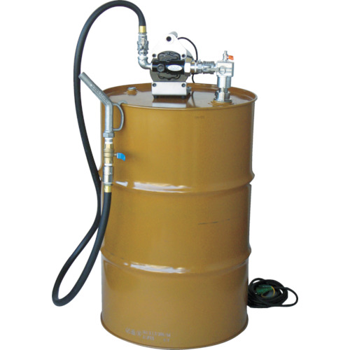 【個別送料1000円】【直送品】アクアシステム 高粘度オイル電動ドラム缶用ポンプ(100V) オイル 油 EVD-100