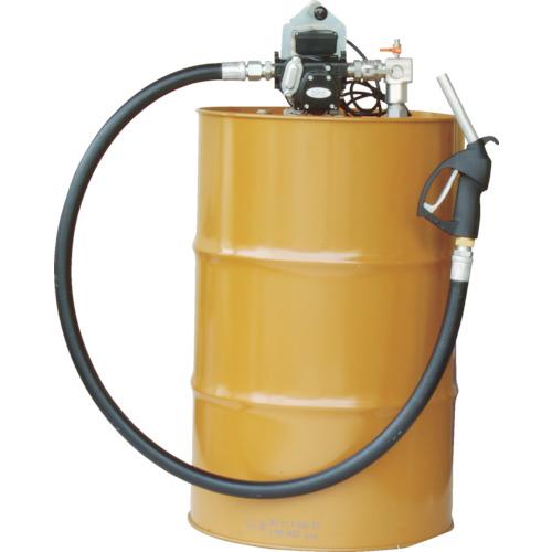 【個別送料1000円】【直送品】アクアシステム 電動ドラムポンプ(100V) 灯油・軽油 EVPD56-100