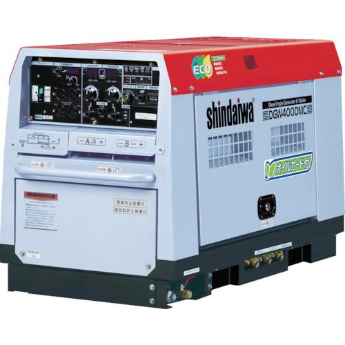 【直送品】新ダイワ ディーゼルエンジン溶接機・兼発電機 400A DGW400DMC