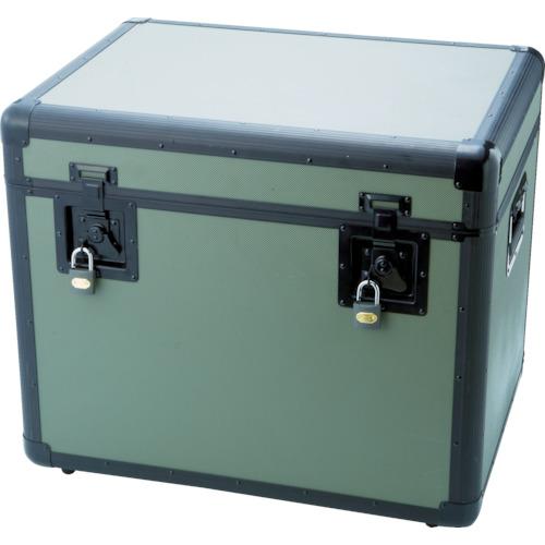 【個別送料1000円】【直送品】TRUSCO 万能アルミ保管箱 オリーブドラブ 610X457X508 TAC-610OD