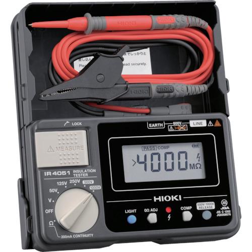 HIOKI 5レンジ絶縁抵抗計 ハードケースモデル IR4051-10
