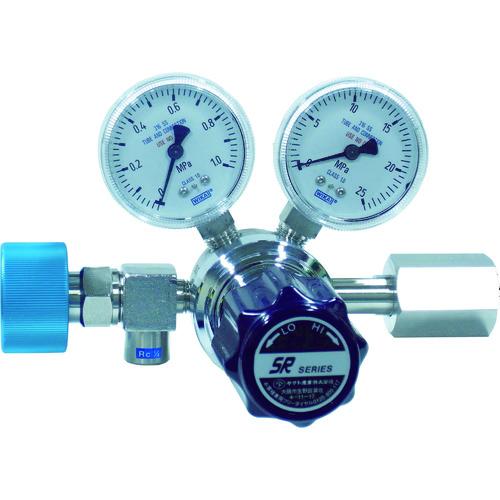 【直送品】ヤマト 高純度ガス圧力調整器 SR-1HL SR-1HL-R-G3-11NA01-2232-I-F