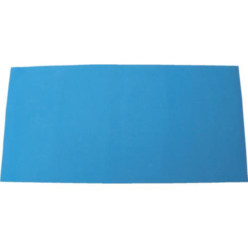 【個別送料1000円】【直送品】ワニ印 床養生材 ピッタリガード ブルー MM×1M×2M (20枚入) 000580