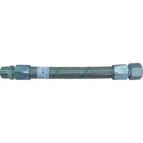 トーフレ メタルタッチ無溶接型フレキ 継手鉄 オスXオス 25AX1000L TF-1625-1000-MM